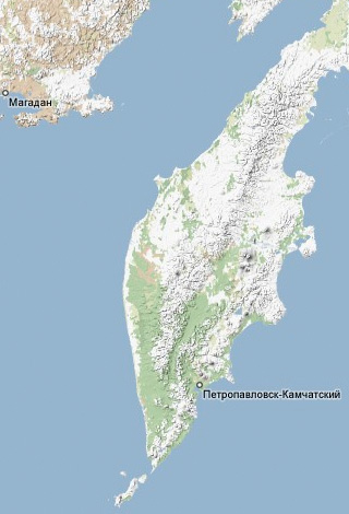 Kamchatka location