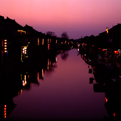 Xitang, Winter Sunset